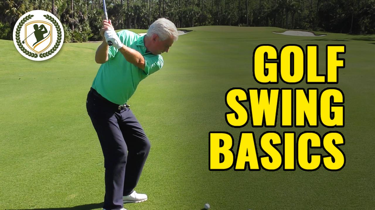 FB-Beginner Golf Swing Basics - 3 Shortcut Concepts & Drills